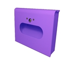Dispenser for S.A.C. Sanitary Napkin & Tampon Disposal Bags, Lavender Coated Steel- Box Format, 1 Unit  # SD2012BLV