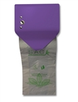 S.A.C. Sanitary Napkin & Tampon Disposal Bag Dispenser - Roll Format, Lavender Coated Steel, 1 Unit # SD2012RLV