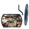 See All Round Rectangular 160 Convex Security Mirror, f