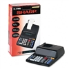 Sharp EL-2196BL Desktop Calculator, 12-Digit Fluorescen