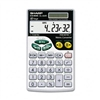 Sharp EL-344RB Basic Calculator, 10-Digit LCD # SHREL34