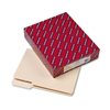 Smead Antimicrobial 1-Ply File Folders, 1/3 Cut, Top Ta