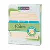 Smead WaterShed/CutLess File Folders, 1/3 Cut, Top Tab,