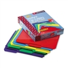 Smead Slash Pocket Poly File Folders, 1/3 Cut, Top Tab,