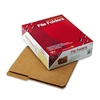 Smead Kraft File Folders, 2/5 Cut Right, Reinforced Top