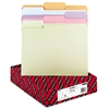 Smead File Folders, 1/3 Cut, Top Tab, Letter, Assorted