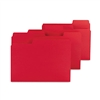 Smead SuperTab Colored File Folders, 1/3 Cut, Letter, R