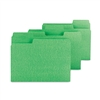 Smead SuperTab Colored File Folders, 1/3 Cut, Letter, G