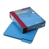 Smead File Folders, 1/3 Cut, Top Tab, Letter, Blue, 100