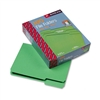 Smead File Folders, 1/3 Cut, Top Tab, Letter, Green, 10