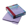 Smead File Folders, 1/3 Cut, Top Tab, Letter, Lavender,
