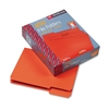 Smead File Folders, 1/3 Cut, Top Tab, Letter, Orange, 1
