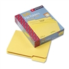 Smead File Folders, 1/3 Cut, Top Tab, Letter, Yellow, 1