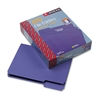 Smead File Folders, 1/3 Cut, Top Tab, Letter, Purple, 1