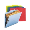 Smead Pressboard Classification Folders, Letter, 6-Sect