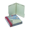 Smead Pressboard Fastener Folder, 1 Expansion, 1/3 Top
