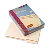 Smead 100% Recycled File Folders, 1/3 Cut, 1-Ply Top Ta