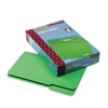 Smead File Folders, 1/3 Cut, Top Tab, Legal, Green, 100