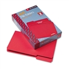 Smead File Folders, 1/3 Cut, Top Tab, Legal, Red, 100/B