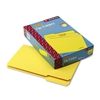 Smead File Folders, 1/3 Cut, Top Tab, Legal, Yellow, 10