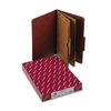 Smead Pressboard Folders w/2 Pocket Dividers, Legal, 6-