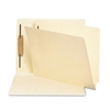 Smead Heavyweight Folders, 1 Fastener, End Tab, Letter,
