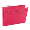 Smead Tuff Hanging Folder w/Easy Slide Tab, Letter, Red