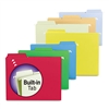 Smead FasTab Hanging File Folders, Letter, Assorted Pri