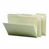 Smead FasTab Hanging File Folders, 1/3 Tab, Legal, Moss