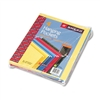 Smead 3 Capacity Hanging File Pockets, Letter, Assorte