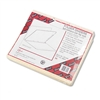 Smead Manila Self-Adhesive Folder Dividers w/Prepunched