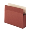 Smead Easy Grip Pocket, Redrope, Letter, 5 1/4 Expansi