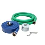 "Lifan, Stanley 1 1/2"" Water Pump Hose Kit, ST1.5K-1500-1145"