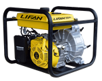 Lifan, Stanley 7 HP Non-Submersible 2 in. Semi Trash Water Pump, ST2STWPLT