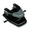 Swingline 28-Sheet Comfort Handle Steel Two-Hole Punch,