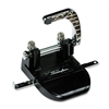 Swingline 40-Sheet Heavy-Duty Steel Two-Hole Punch, 1/4