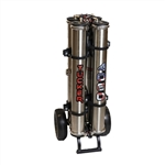 Tucker 4-Stage Dual RO/DI Pure Water Purification System and Cart T-4060