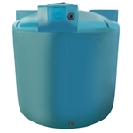 Chem-Tainer 1550 Gallon Green Vertical Water Tank, Premium, Portable, Vertical, Drinking Water Tank