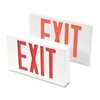 Tatco LED Exit Sign, Polycarbonate, 12-1/4 x 2-1/2 x 8-