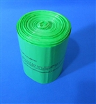 S.A.C. Sanitary napkin disposal bin liners - larger, green
