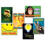 TREND® Assorted Attitude and Smiles Themed Motivational Prints, 13 3/8 x 19, 6/Pack # TEPTA67920