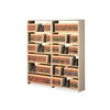 Tennsco Snap-Together Open Shelving 6-Shelf Closed Add-