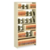 Tennsco Snap-Together Open Shelving Steel 6-Shelf Close