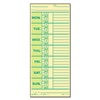 TOPS Time Card f/Pyramid Model 331-10, Weekly, Two-Side