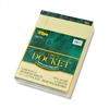 TOPS Double Docket Ruled Pads, Narrow Rule, Ltr, Canary