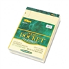 TOPS Double Docket Ruled Pads, Legal Rule, Ltr, Canary,