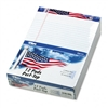 TOPS American Pride Writing Pad, Jr. Legal Rule, 8-1/2x