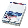 TOPS American Pride Writing Pad, Lgl Rule, 8-1/2 x 11-3
