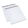 TOPS Easel Pads, Unruled, 27 x 34, White, 2 50-Sheet Pa