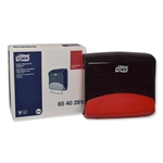 "Performance Folded Wiper/Cloth Dispenser, Plastic, 16.81"" x 8.11"" x 15.51"", Red, TRK6540281"